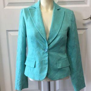 Beautiful Aqua Turquoise Jacket